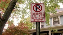 Restricciones de estacionamiento en GR