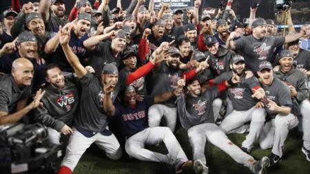 ¡El nuevo rey! Los Medias Rojas de Boston  son los Campeones de la Serie Mundial