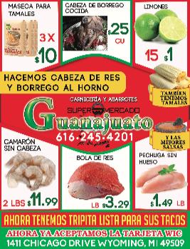 ESPECIALES SUPER MERCADO GUANAJUATO