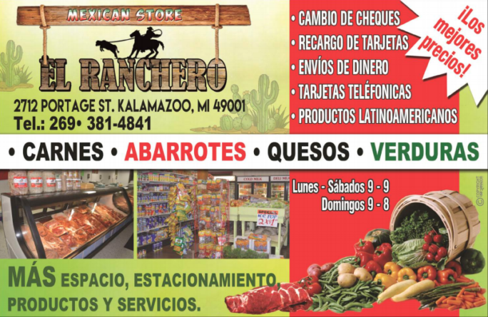 ESPECIALES EL RANCHERO MEXICAN STORE