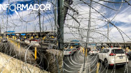 EEUU cierra temporalmente acceso al país en el cruce fronterizo de San Ysidro