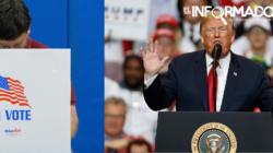 """Trump presume de un """"tremendo éxito"""" en las elecciones legislativas"""