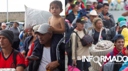 Caravana migrante llega a Guadalajara, punto intermedio hacia Estados Unidos