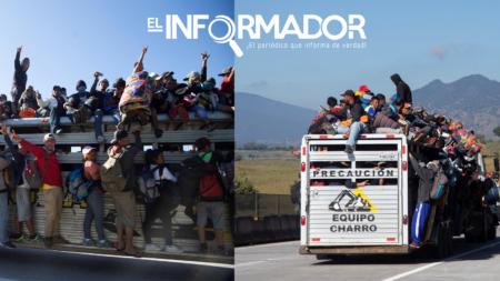 Migrantes emprenden a la fuerza la segunda mitad de su trayecto hacia EE.UU.