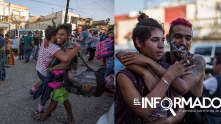Comunidad LGBT de caravana migrante llega a Tijuana