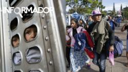 Salen de El Salvador 198 migrantes que se dirigen en una caravana a EE.UU.