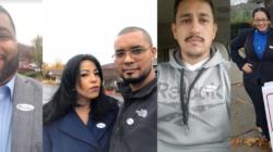 Latinos de GR hicieron presencia en votaciones