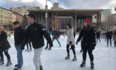 Temporada de patinaje en Rosa Parks Circle