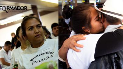 Padres mexicanos se reúnen en EEUU con sus hijos tras décadas de separación