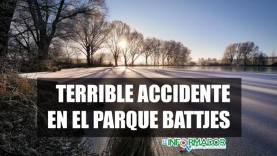 TERRIBLE ACCIDENTE EN EL PARQUE BATTJES