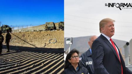 Trump insiste en muro en la frontera con México a través del que pueda verse