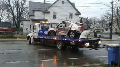 Grave accidente en Burton y Buchanan