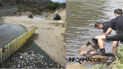 Hallan flotando cerca de frontera el cuerpo sin vida de un posible migrante