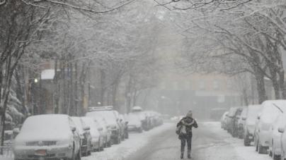 Gobernador de Nueva York advierte de fuertes nevadas para el fin de semana
