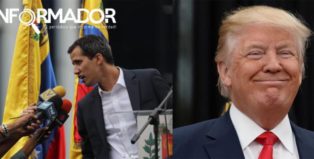 """Trump reconoce a Guaidó como presidente legítimo """"interino"""" de Venezuela"""