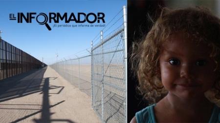 Niña inmigrante con lesiones al cruzar la valla fronteriza en Arizona