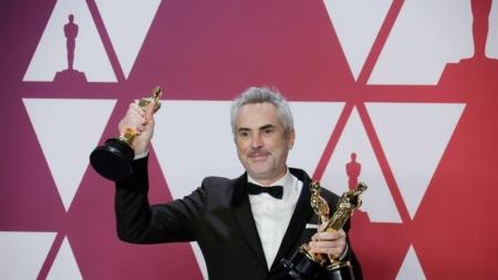 """Alfonso Cuarón se lleva el Óscar a mejor dirección por """"Roma"""""""