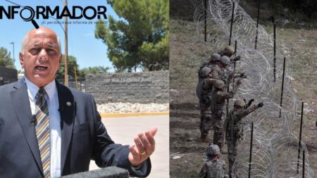 Ciudad de Nogales solicita la retirada de alambrada de púas en la frontera