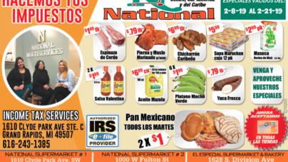 ESPECIALES NATIONAL SUPERMARKET