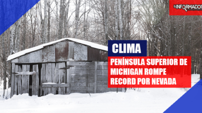 Península superior de Michigan rompe record por nevada