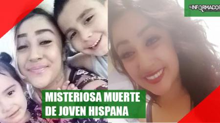 Misteriosa muerte de joven hispana