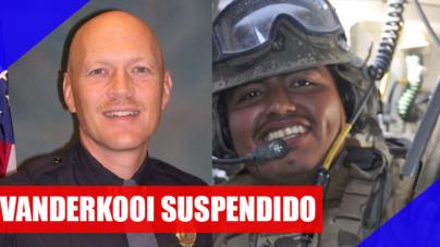 Suspenden a policía que delató con ICE a hispano
