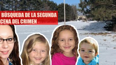 BUSCAN SEGUNDA ESCENA DEL CRIMEN DE LA MUERTE DE LAS MENORES Y SU MADRE