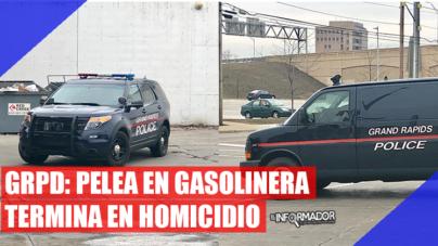 GRPD: Pelea en gasolinera termina en homicidio