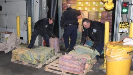 Incautado el mayor cargamento de cocaína de los últimos 25 años