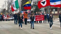 Marcha en conmemoración a César E. Chávez