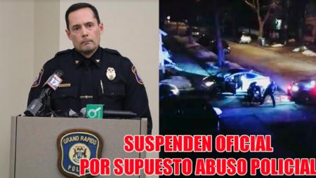 Suspenden oficial luego de presuntos casos de brutalidad policial