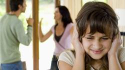 Divorcio un impacto tremendo para los hijos