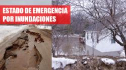 Estado de emergencia por inundaciones