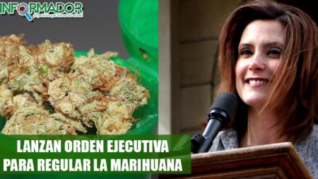 Whitmer firma orden ejecutiva para regular la marihuana