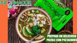 Sabrosa receta de Pozole de Pollo con Pistachios