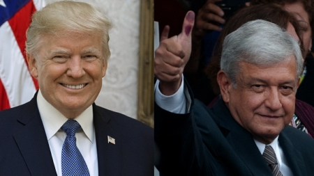 Trump: Después de amenazar a México ahora lo reconoce