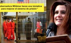 Gobernadora Whitmer lanza una iniciativa para mejorar el sistema de prisión