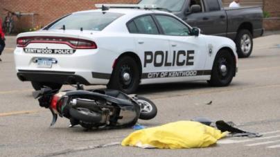 Motociclista muere luego de impactarse contra un automóvil