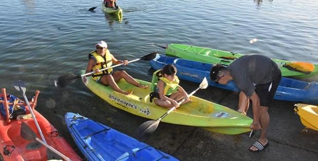 Grand Rapids ofrece actividades recreativas en la laguna de Riverside Park