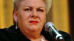 Paquita la del Barrio se propone como candidata a la presidencia