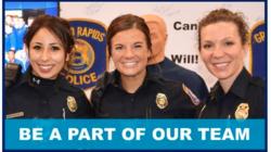GRPD se encuentra reclutando oficiales del sexo femenino