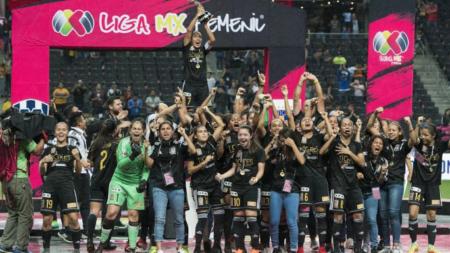 Tigres Femenil campeón en la liga MX