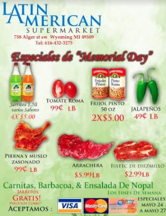 ESPECIALES LATIN AMERICAN SUPERMARKET