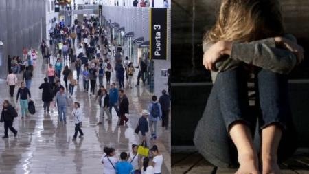 Menor estadounidense acusa a un mexicano de violarla en pleno vuelo