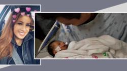 Bebe de la latina embarazada que asesinaron para sacarle a su bebe, abre los ojos