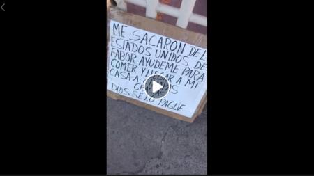 MIGRANTE DEPORTADO HABLA SOBRE CÓMO HAN AFECTADO LAS CARVANAS Y LA POLÍTICA DE DONALD TRUMP