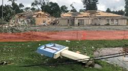 Así quedó South Bend luego del paso de un Tornado