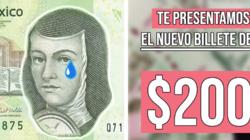 ¡Adios querida Sor Juana!: Nuevo billete de $200