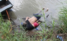 Padre e hija inmigrantes mueren al intentar cruzar el rio Bravo