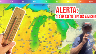 ALERTA: Ola de calor llegará a Michigan